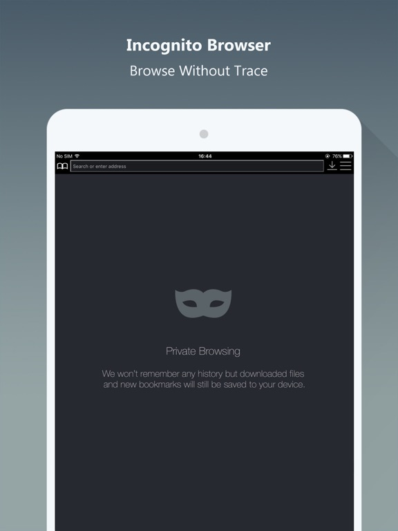 Screenshot #3 for Private Browser PRO - Safe Browsing & File Manager