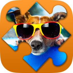 Dogs Jigsaw Puzzle Game free