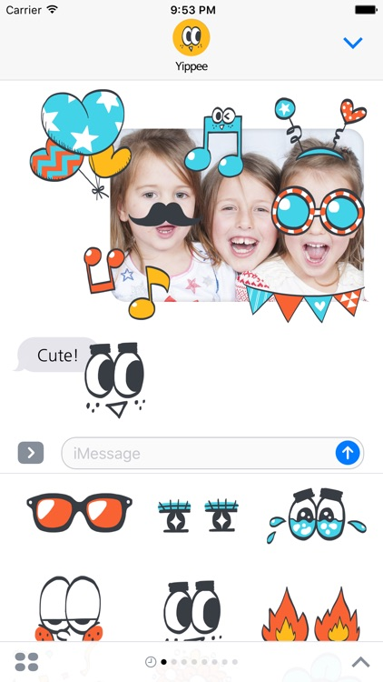 Yippee stickers screenshot-3