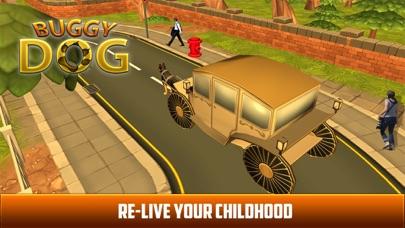 Drive Dog Buggy Taxi:  Dog Cart driving simulation screenshot four