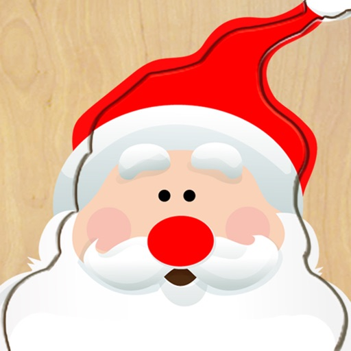 Wood Puzzle Christmas icon