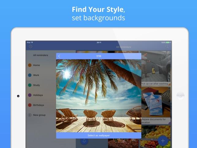 Reminders: photo to-do list & task notification Screenshot