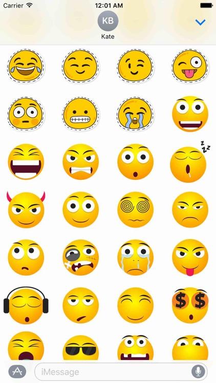 Funny Smileys Sticker Pack!