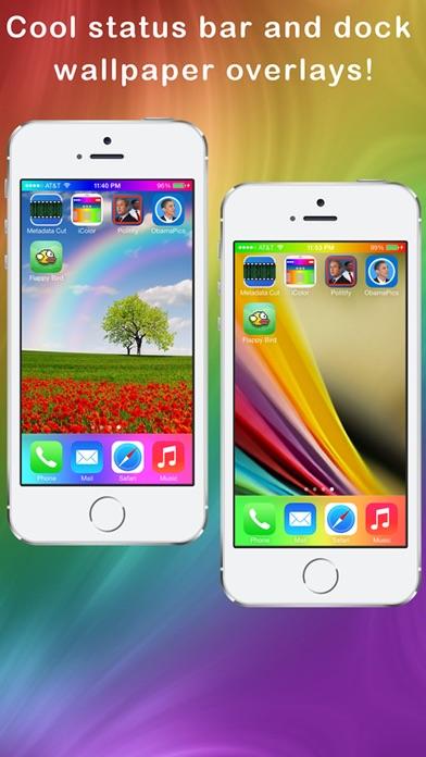 Home Screen Background Effects Screenshots