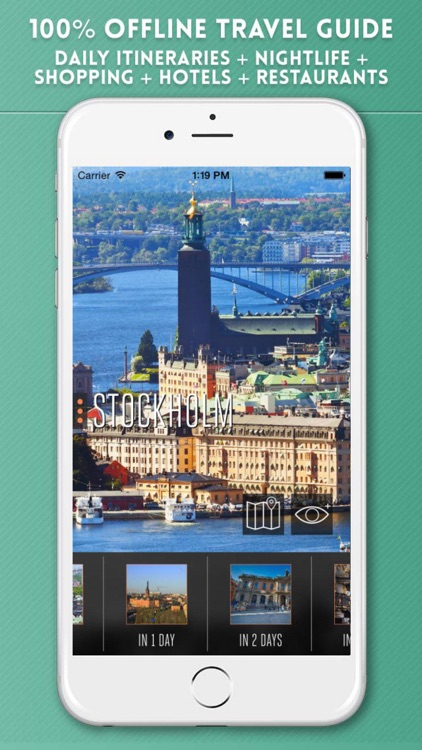 Stockholm Travel Guide with Offline Map & Metro