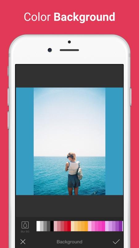 Photo Editor for Instagram No Crop, Emoji & Blur - Online