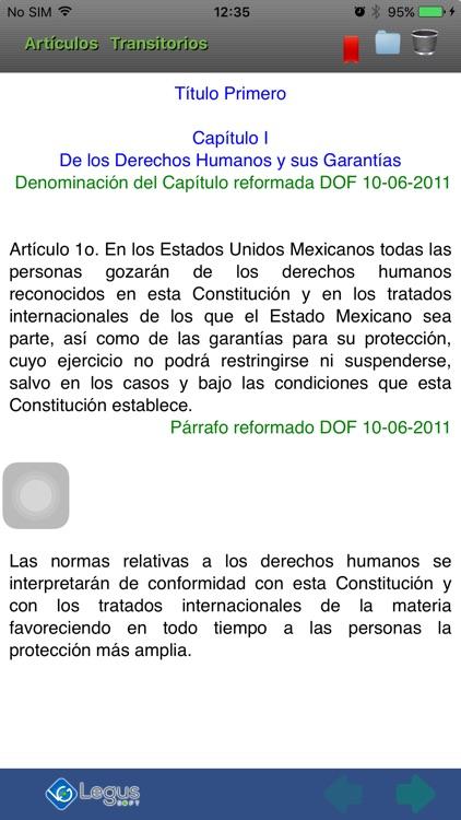 Constitución Política México