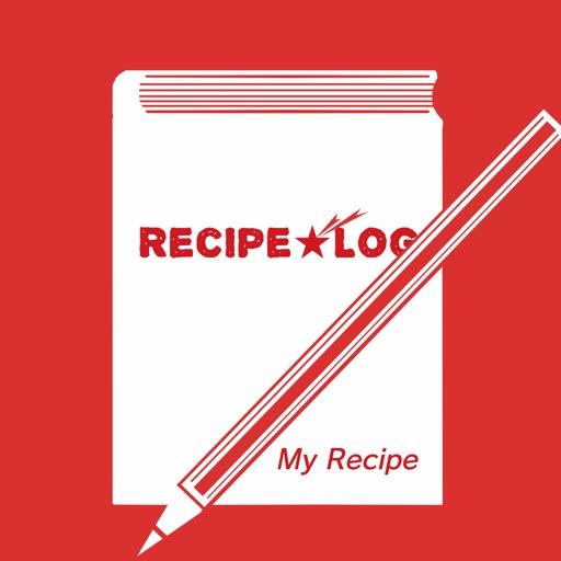 レシピログ:自分のレシピをカンタン管理!