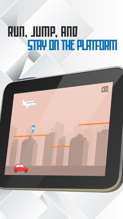 Tiny Titan Hero Runのスクリーンショット1