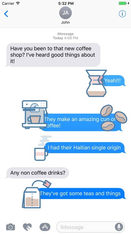 Coffee Snob Stickers