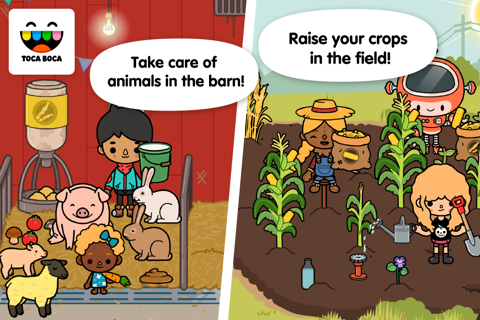 Toca Life: Farm screenshot 1