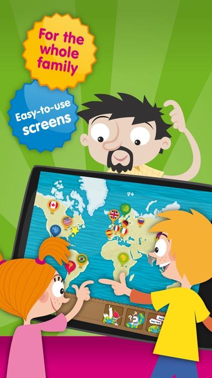 Planet Geo - Fun Games of World Geography for Kids screenshot-4