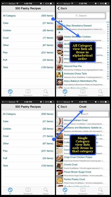 500 Pastry Recipes screenshot-4