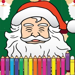 Christmas Coloring for Children Holiday Games