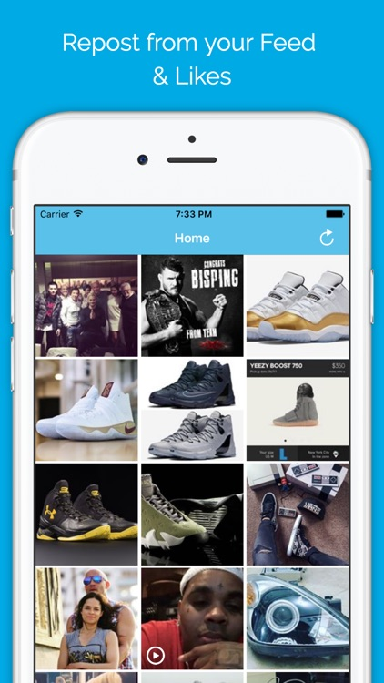 Instasave - Grab from Instagram Photos & Repost It