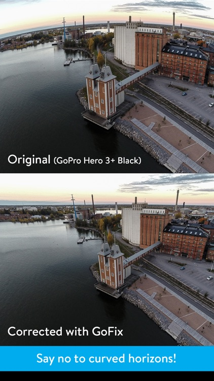 GoFix - Remove Distortion from GoPro Photos