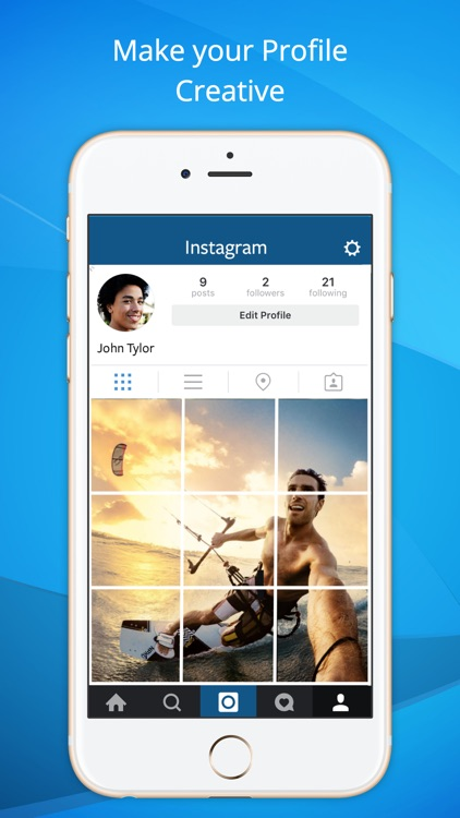 PhotoGrid For IG - Split Pic in Grids For Insta