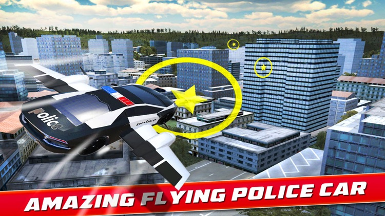 Flying Police Car