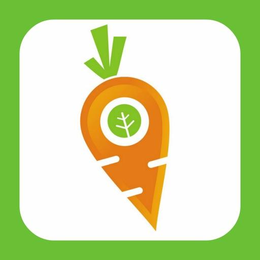 Finding Vegan app logo