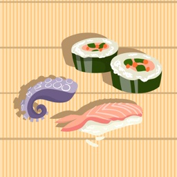 Sushi & Japanese Food Stickers