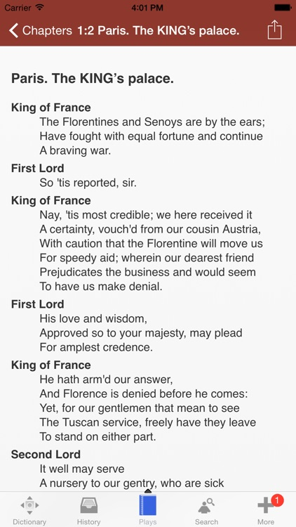 Shakespeare Play Dictionary screenshot-3