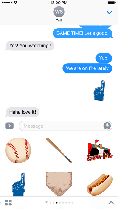 MLB 2016 Sticker Pack Screenshot