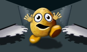 POTATO PANIC - action runner fun game