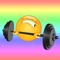 Let your friends and followers know that you're working out with Fitness Emojis