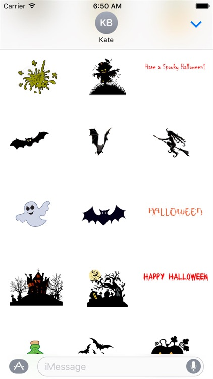 HD Halloween Stickers screenshot-0