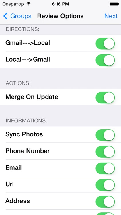 iContactsPro - Advanced Contact & Group Manager screenshot-4