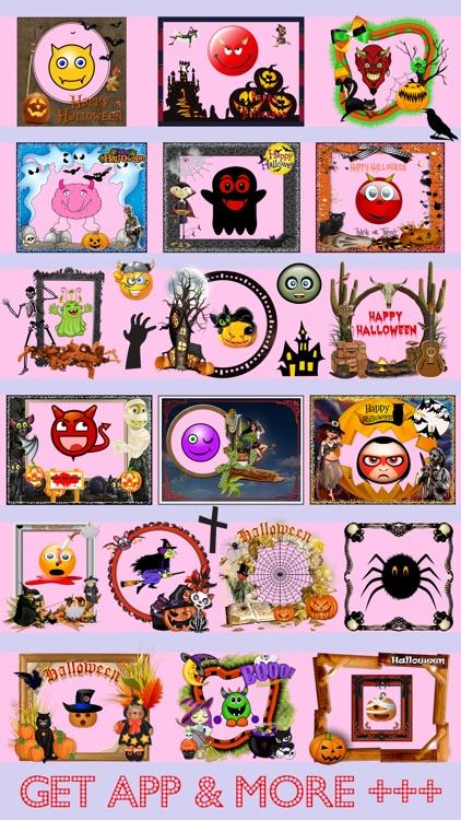 Halloween Photo Frames Editor & Stickers Booth Pro screenshot-4