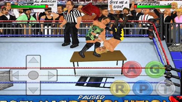 Wrestling Revolution screenshot-1