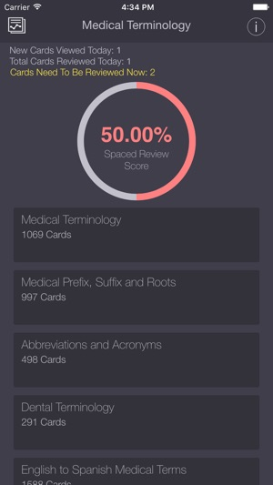 medical dental terminology abbreviations pro flashcards app をapp