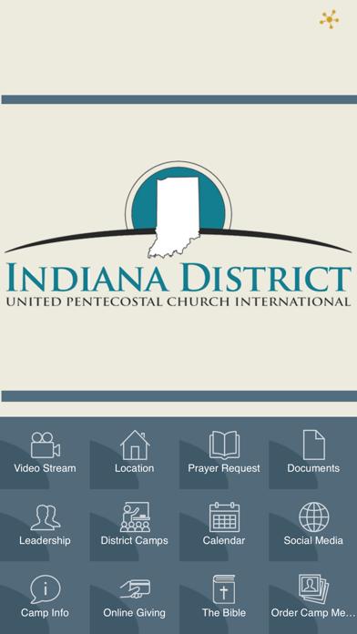 Indiana District UPCI screenshot one