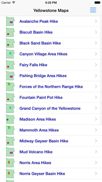 Hiking Yellowstone National Park screenshot-3
