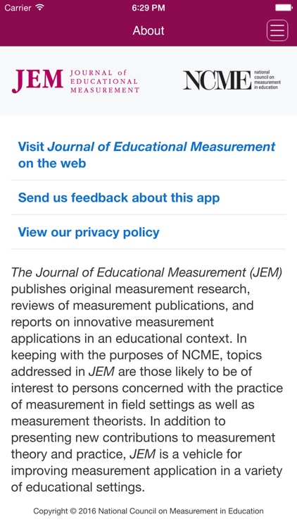 Journal of Educational Measurement