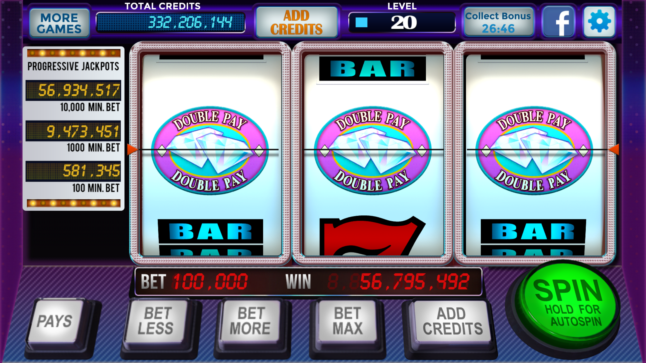 777 Stars Casino - Free Old Vegas Classic Slots Screenshot