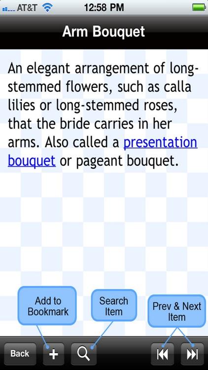 The Wedding Glossary screenshot-4
