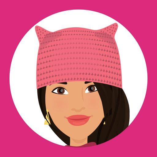 Telle Women's March stickers L