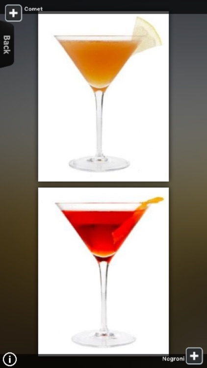 Cocktail Recipes List screenshot-3