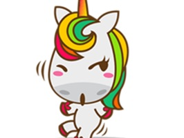 Unicorn Sweet And Cute Sticker For iMessages