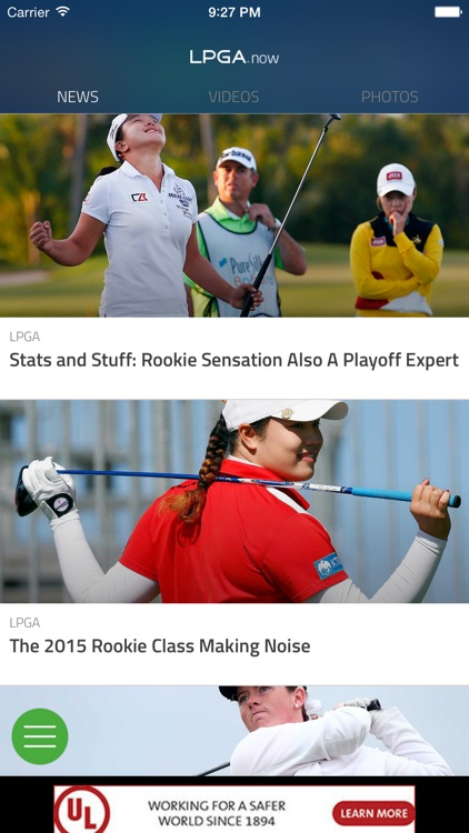 LPGA Now screenshot-1