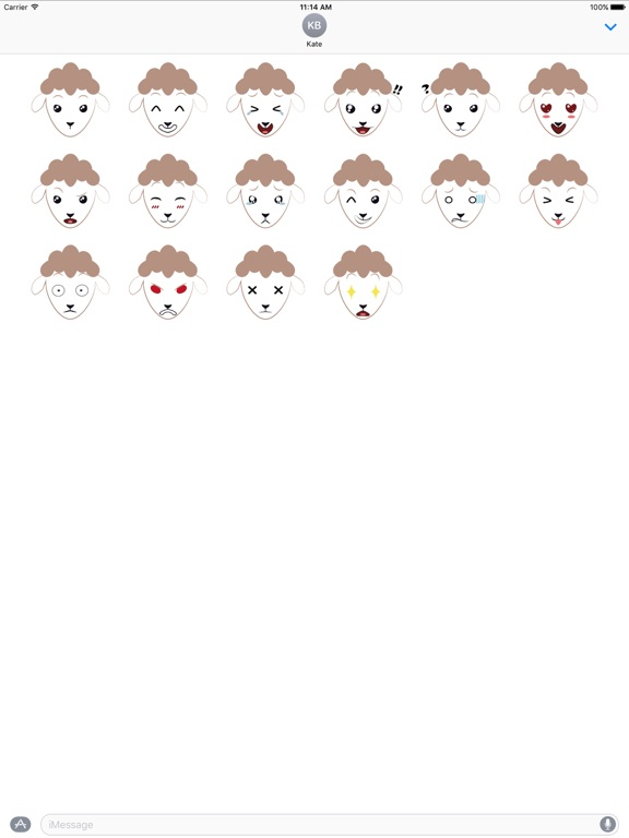 Screenshot #1 for Sheep Expressions