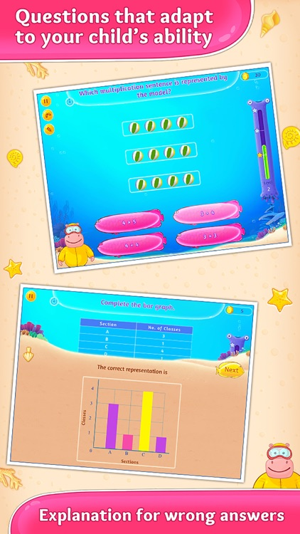 Third Grade Splash Math Games screenshot-2