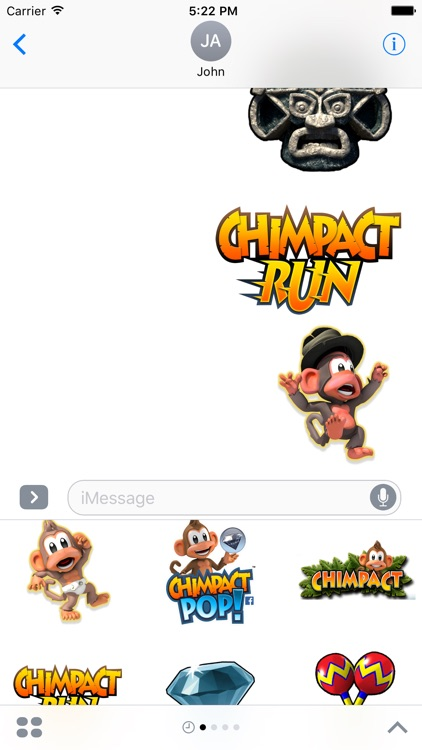 Chimpact Sticker Pack screenshot-4