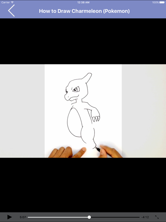 Learn to Draw Popular Characters Step by Step for iPad screenshot three