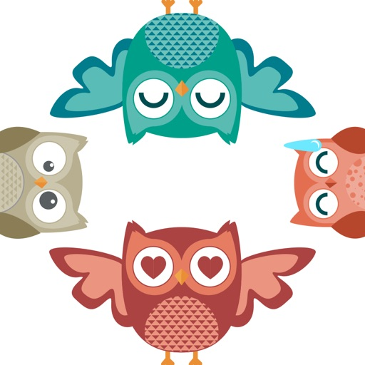 Owl Fever Stickers 2