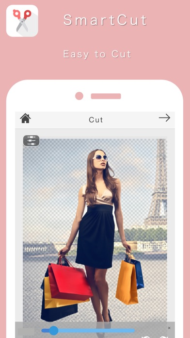 SmartCut - Cut Out Image & Background Eraser
