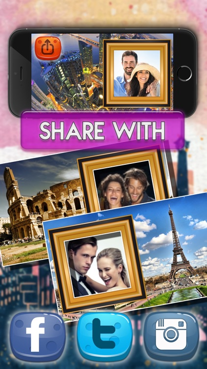City View Picture Frame.s - Selfie Photo Editor screenshot-4