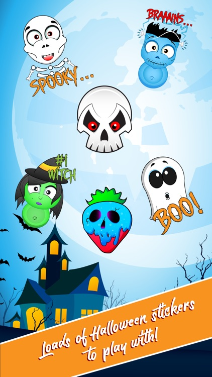 Halloween Stickers: Trick or Treat!